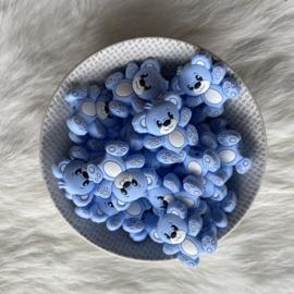 Beren kraal - zacht blauw