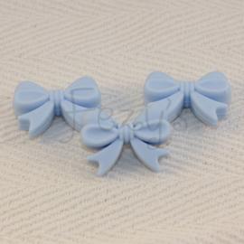 Strikje - zacht blauw