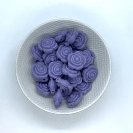 Kleine bloem - donker lila
