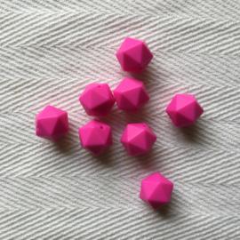 Icosahedron - fuchsia