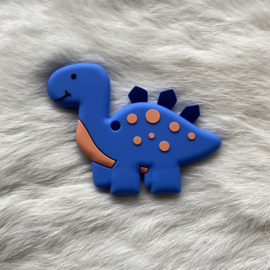 Brachiosaurus bijtfiguur - donker blauw
