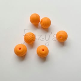 15mm striped - orange