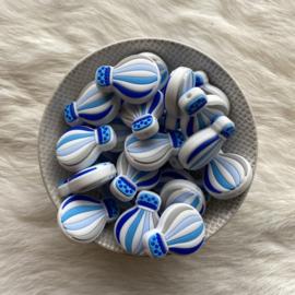 Air balloon bead - blue