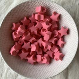 Kleine ster - koraal roze