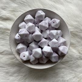 kleine hexagon - marmer antiek paars