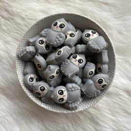 Oehoe kraal - licht grijs
