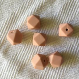 Kleine hexagon - perzik