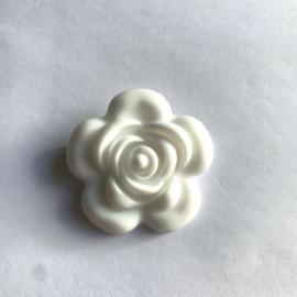 Grote bloem - wit