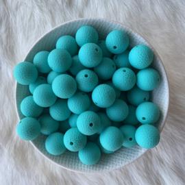 15mm lederlook - turquoise
