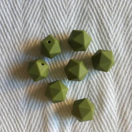 Kleine icosahedron - leger groen