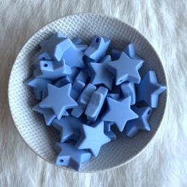 Ster M - licht poeder blauw