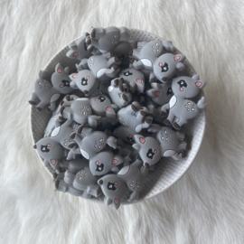 hertje kraal - grijs