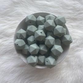 Icosahedron 17mm - sage