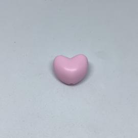 Hartje - zacht roze