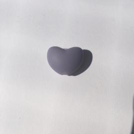 Hartje - donker lila