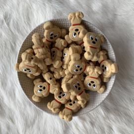 Hondjes kraal - licht bruin