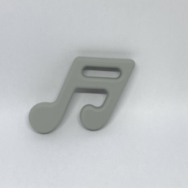 muzieknoot - licht grijs
