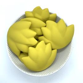 Lotus kraal - mosterd geel