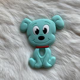 Dog teether - light turquoise