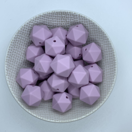 Icosahedron 17mm - licht lavendel
