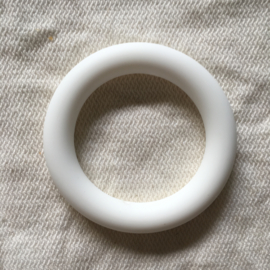 Silicone ring - white