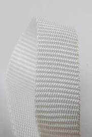Polypropyleen band 25 mm - wit