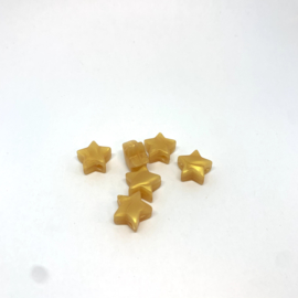 Kleine ster - parelmoer goud