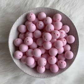 Safety bead 12mm - marble soft pink