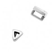 Schuiver - driehoekje zilver