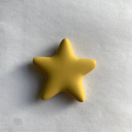 Ster rond - mosterd geel