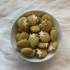 Aardbei kraal - mosterd