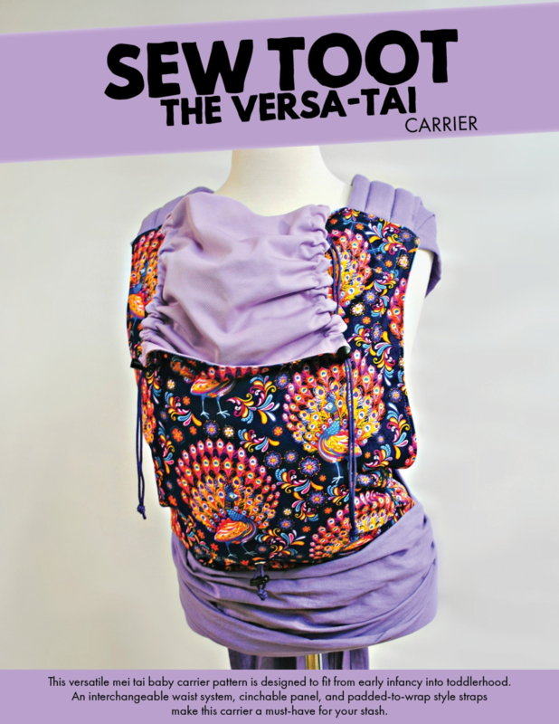 Sewtoot kit - The versa-tai (half buckle variant)