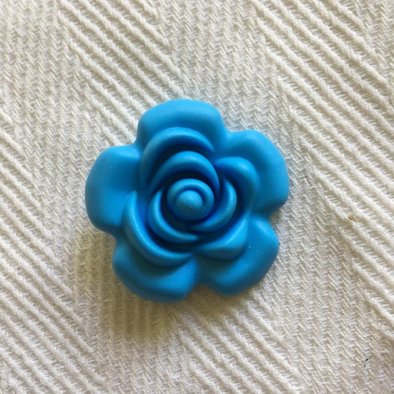 Grote bloem - hemels blauw