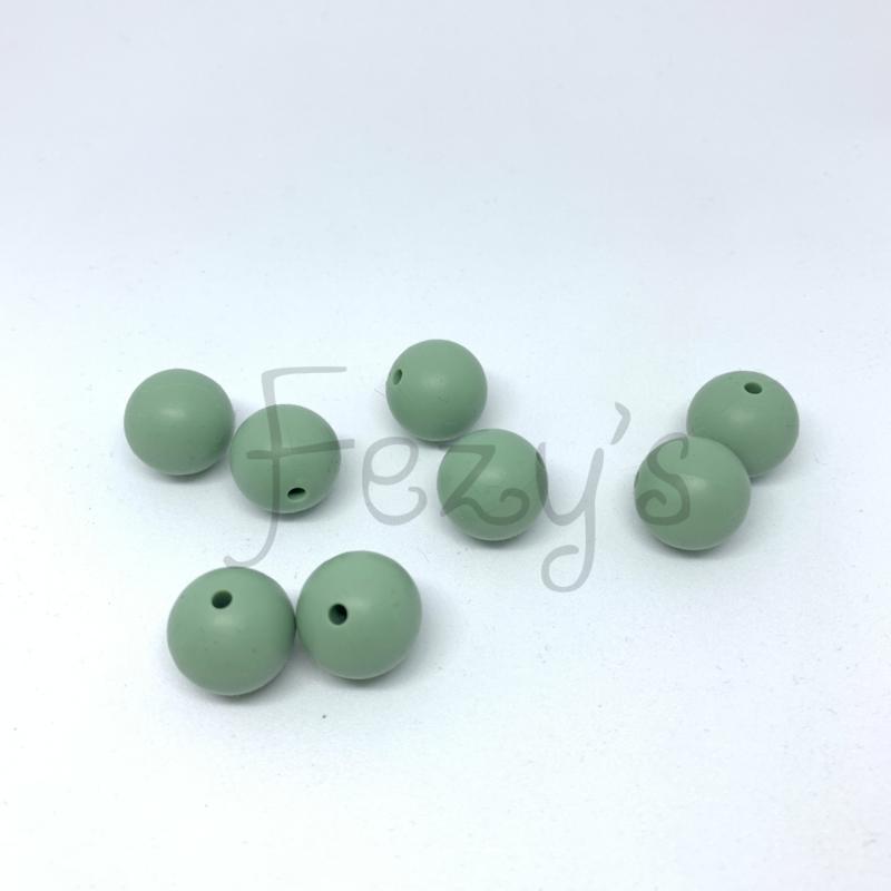 15mm - oud groen