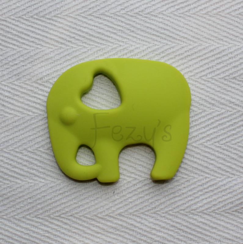 Olifant - licht groen