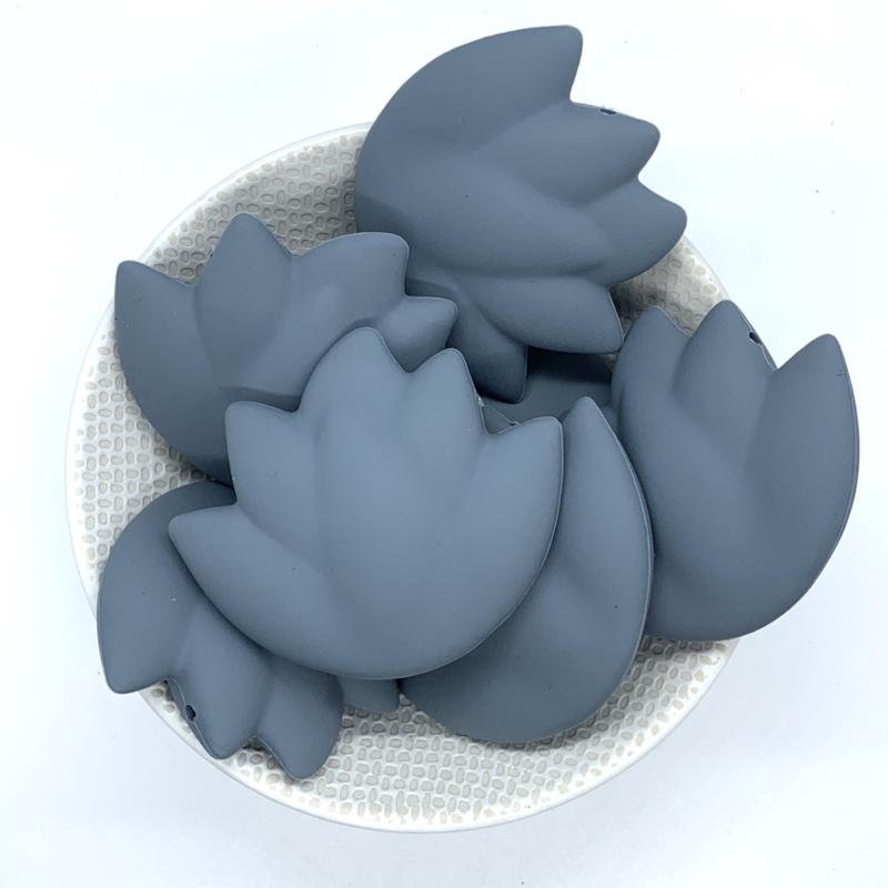 Lotus kraal - donker grijs