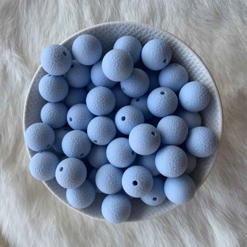 15mm lederlook - zacht blauw