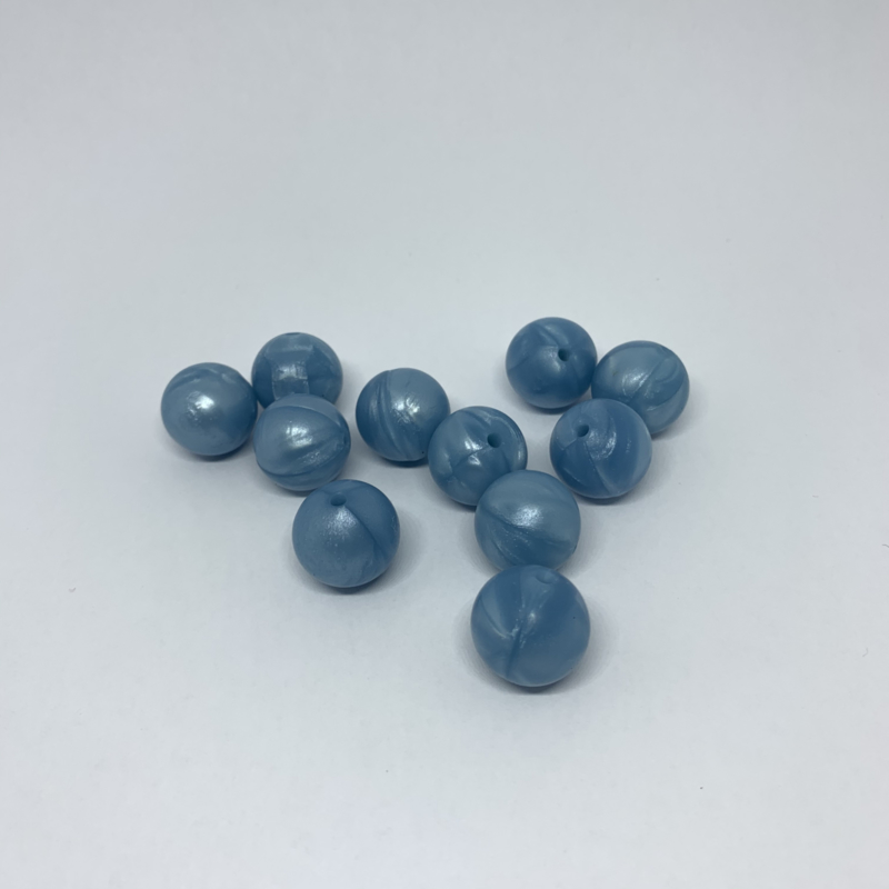 15mm - pearl blue