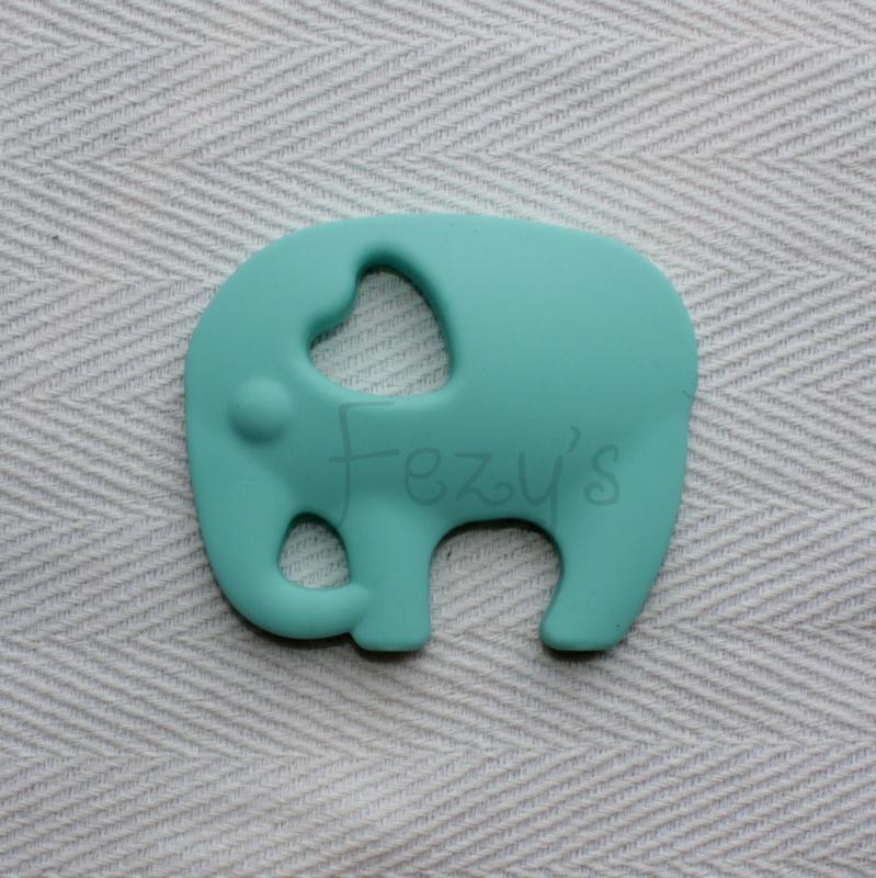 Olifant - licht turquoise