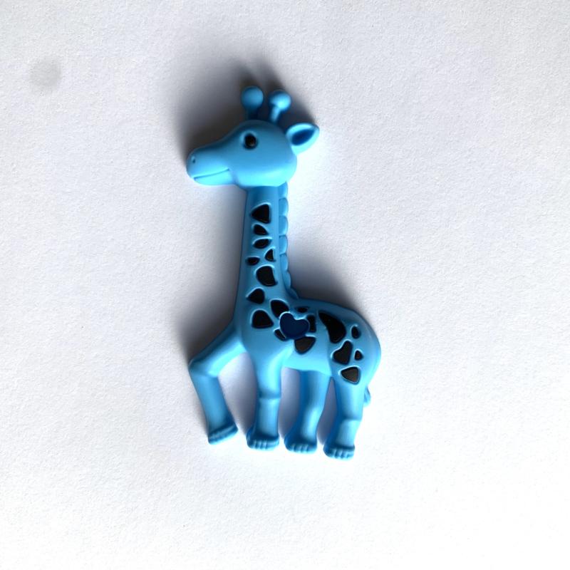 Giraffe - hemelsblauw