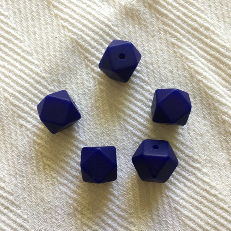 Kleine hexagon - navy