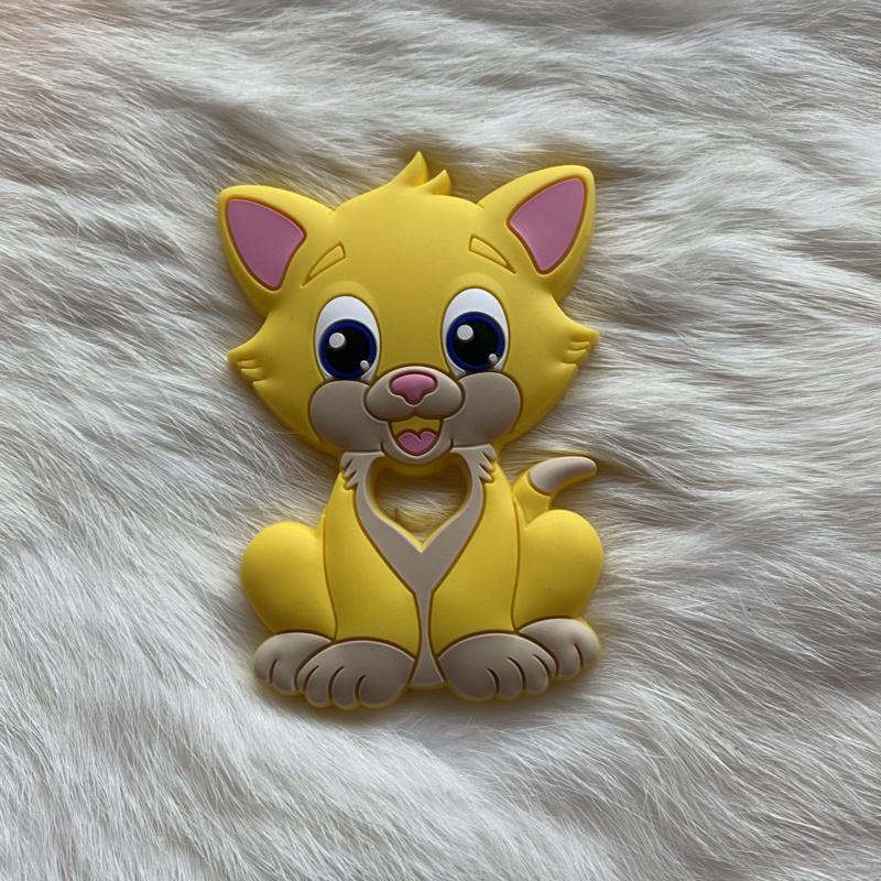 Cat teether - yellow