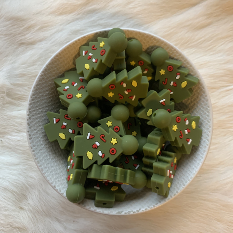 Christmas tree bead
