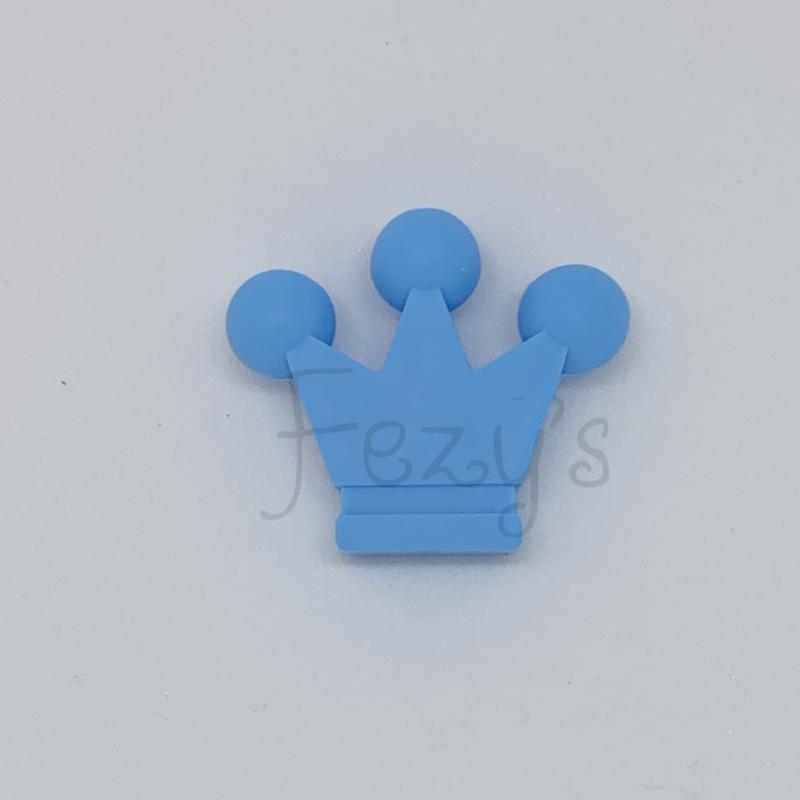 Kroontje kraal - hemelsblauw