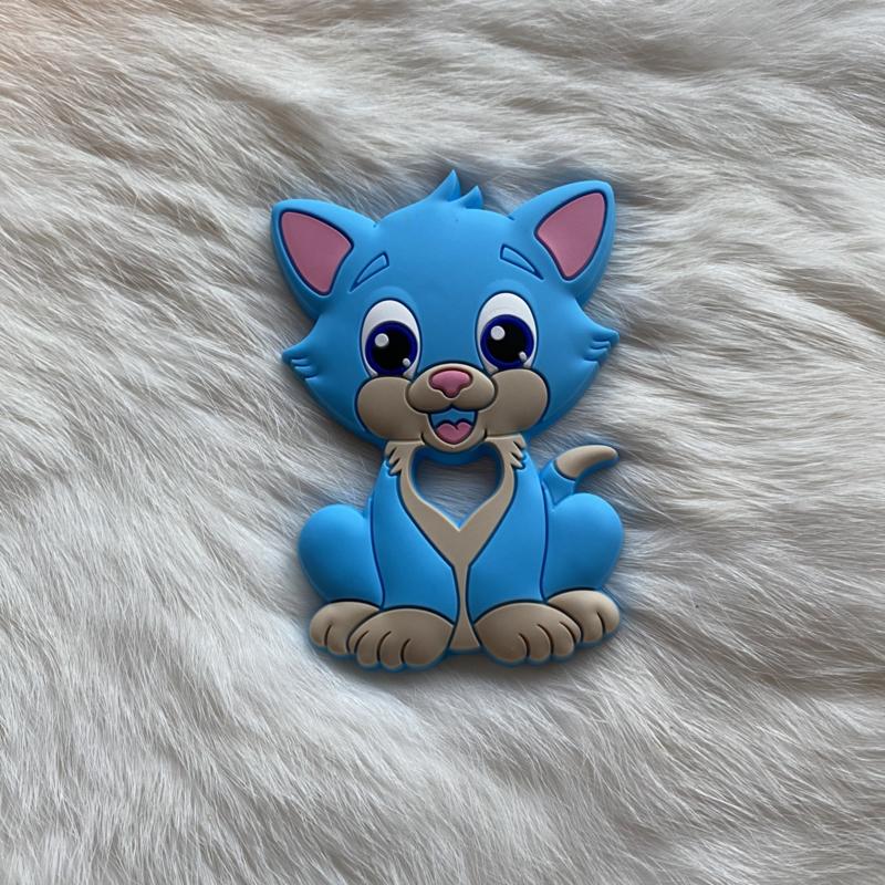 Cat teether - sky blue