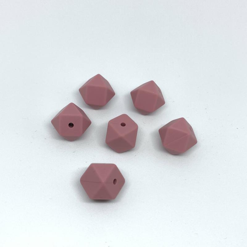 Kleine hexagon - blush