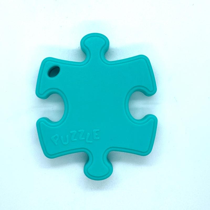 Puzzelstukje - turquoise
