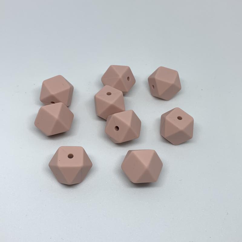 Kleine hexagon - oud roze