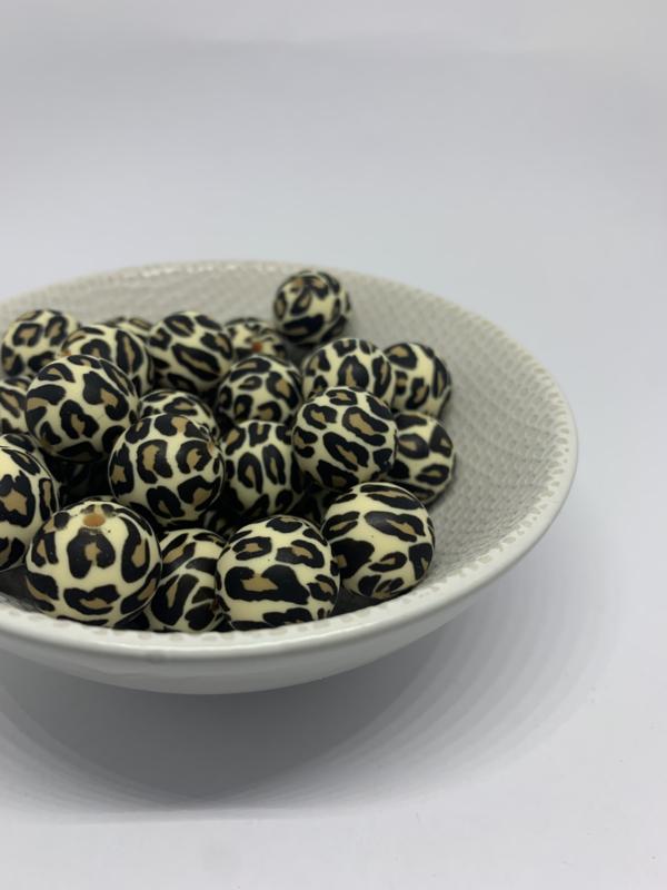 19mm - leopard print beige PRE-ORDER