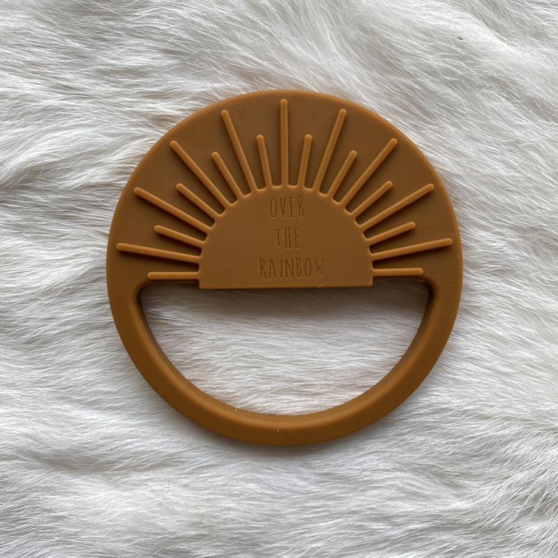 Zonnestraal bijtring - karamel